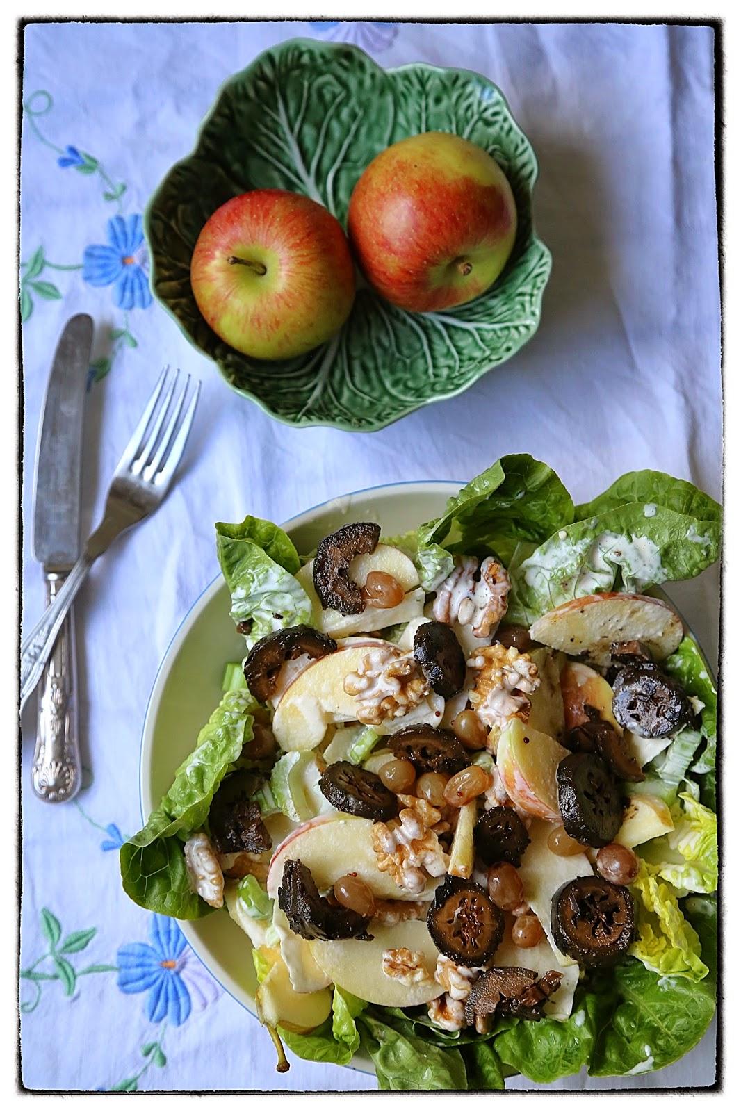 vegetarian waldorf salad recipe