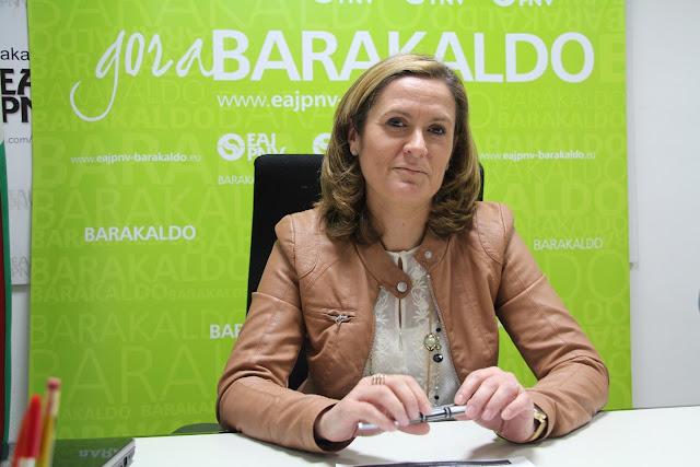 alcaldesa de Barakaldo, Amaia del Campo