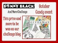 Penny Black October Candy Event - I won ribbons!