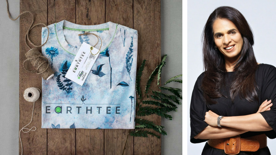 Your Ultimate Guie to an Eco-Friendly Wardrobe - Earth T-Shirt by Anita Dongre