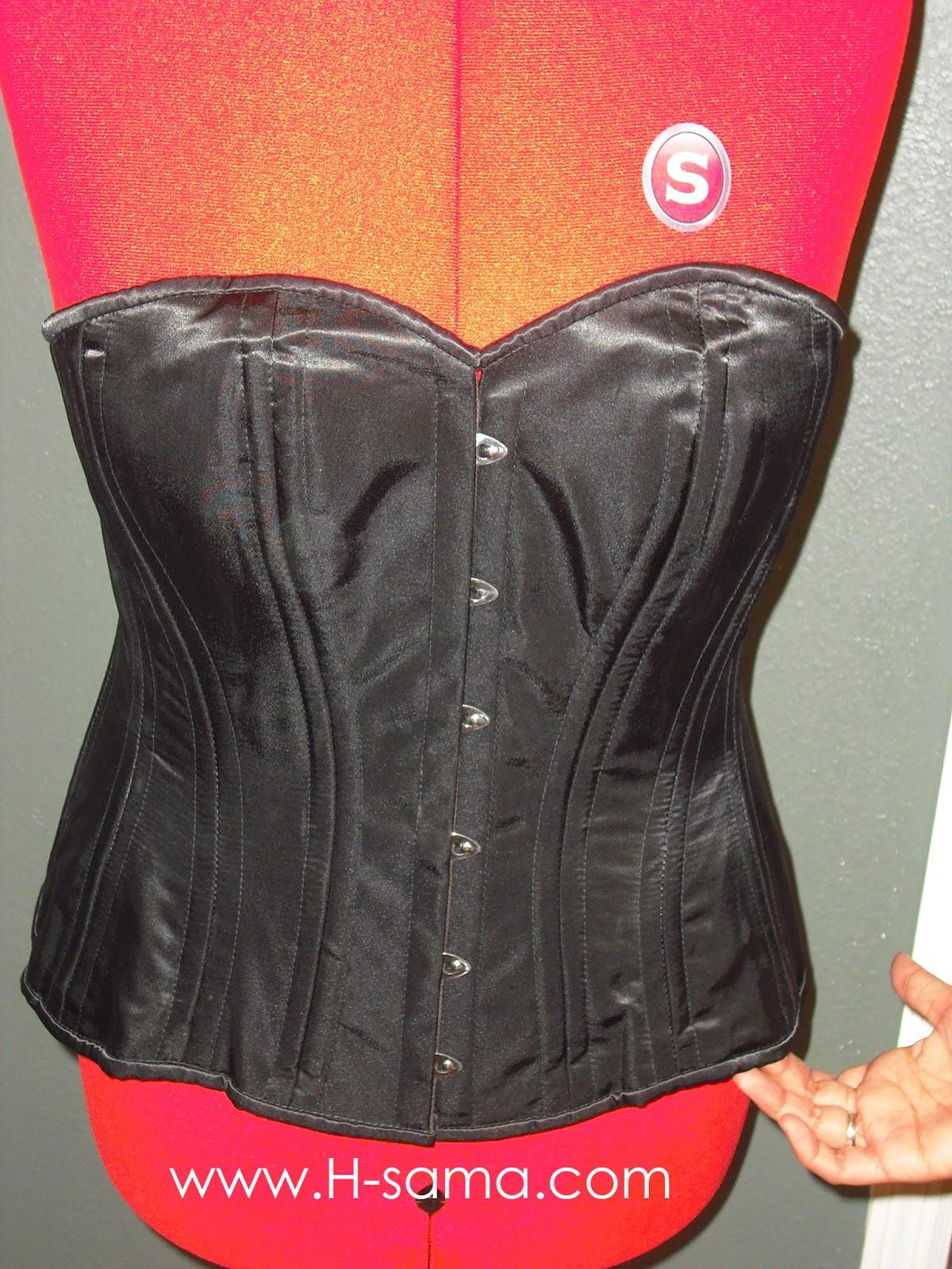 afba9cdb7 Enganação  Ultimamente alguns vendedores têm trocado o fechamento com  colchetes de um corselet por busk. E vendido um corselet bem com