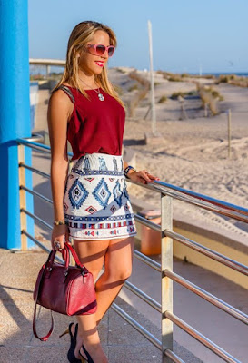 propuestas de Faldas Casuales Moda