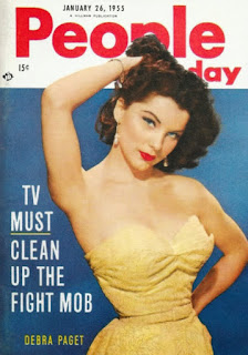 Debra Paget Magazine Cover