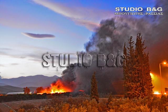 Πυρκαγιά στο Μετόχι Ερμιονίδας