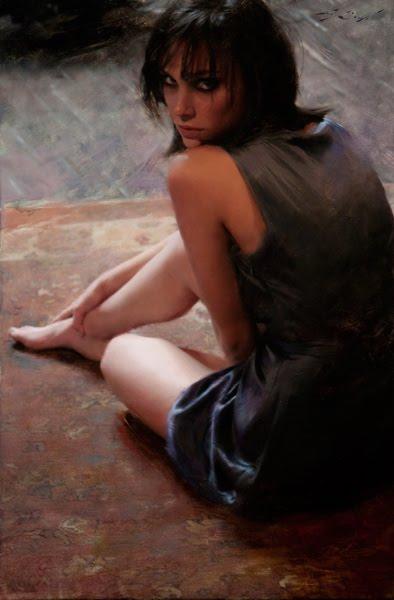 Casey Baugh | American Figurative Artist | Fashion Portraits