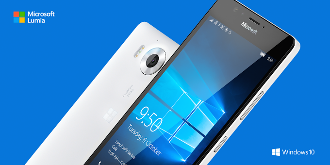 Microsoft Lumia 950 officially announced