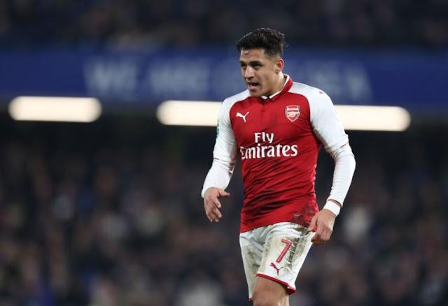 Manchester City Bersedia Berjalan Menjauhi Alexis Sanchez