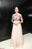 Ritu Varma smiling face Cream Anarkali dress at launch of OPPO New Selfie Camera F3 ~  Exclusive 002.JPG