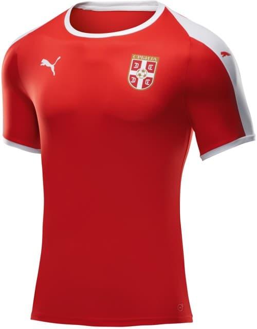 セルビア代表 2018 ユニフォーム-ロシアワールドカップ-ホーム