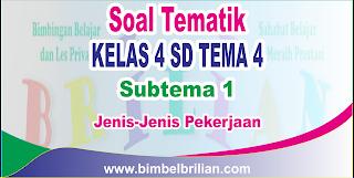 Negara Indonesia adalah negara yang terdiri dari ratusan juta penduduk Soal Tematik Kelas 4 SD Tema 4 Subtema 1 Jenis-Jenis Pekerjaan dan Kunci Jawaban