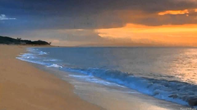 وصف منظر طبيعي شاطئ البحر