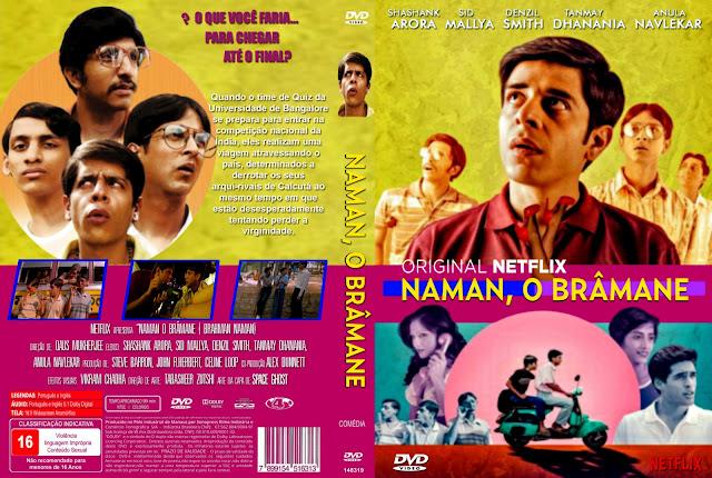 Capa DVD Naman O Brâmane