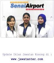 Jawatan Kosong Senai Airport Terminal Services Sdn. Bhd.