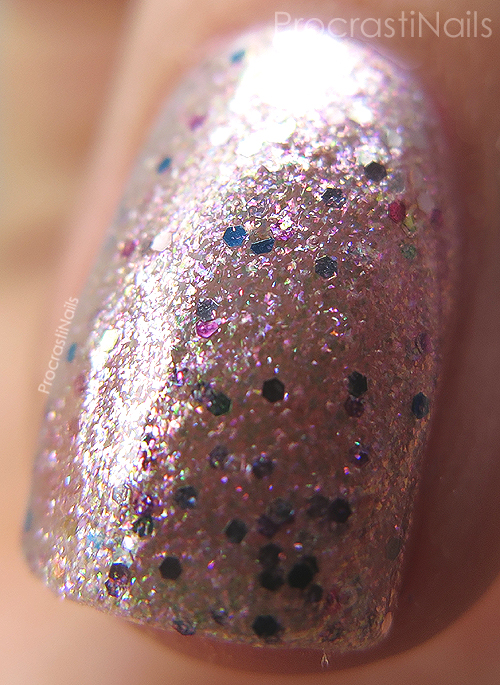 Macro of OPI Charmmy & Sugar
