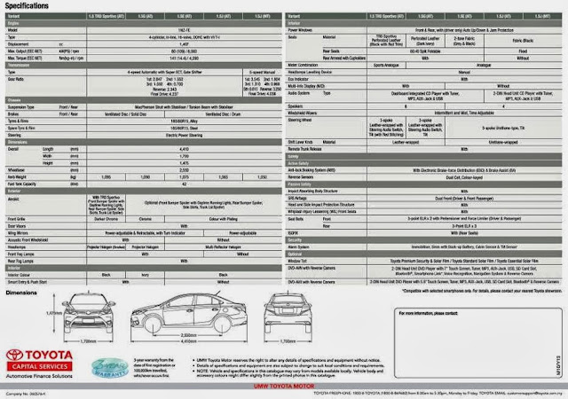 The All New Toyota Vios in Malaysia, toyota vios, cars, Vios 1.5 TRD Sportivo Auto, Vios 1.5G Auto, Vios 1.5E Auto, Vios 1.5J Auto and Vios 1.5J Manual, car specification