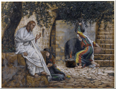Mary Magdalene at the Feet of Jesus- PD-1923