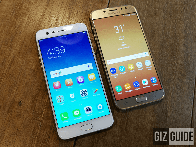 Video: OPPO F3 Vs Samsung Galaxy J7 Pro - Midrange Comparison