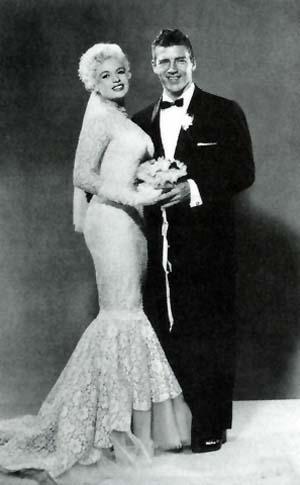 Vestido noiva sereia anos 50, Jayne Mainsfield