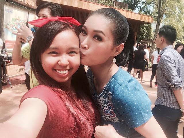 Blogger Aliza Sara Kena Cium Dengan Model Terkenal Amber Chia