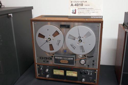 TEAC open reel deck A - 4010 (1965)