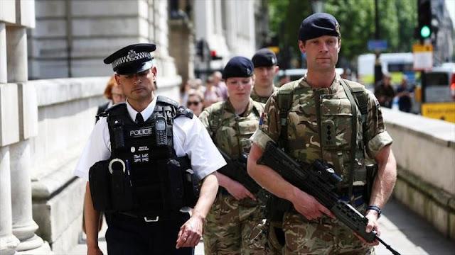 Londres pone en alerta a 3500 militares ante un Brexit sin acuerdo