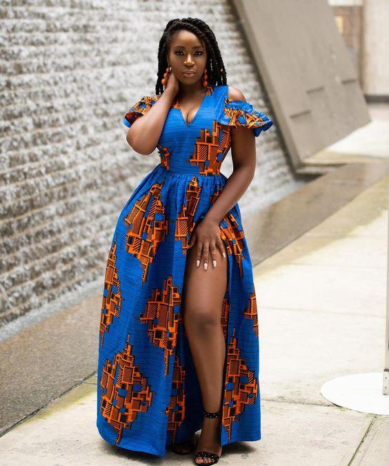Ankara Maxi Dress Women's Clothing Clothing