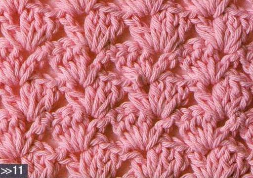 Patrón 1008 Punto Tupido a Crochet