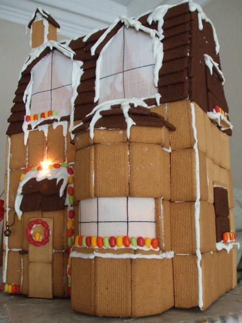 Conosciuto MOS MEA: Come realizzare una casetta di biscotti per Natale - tutorial FT23