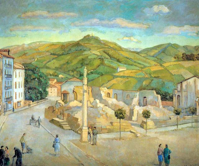 Gaspar Montes Iturrioz, Paisajistas españoles, Paisajes de Gaspar Montes, Pintor español, Pintores de Irún, Gaspar Montes
