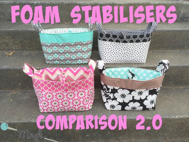 Blog - Foam Stabilisers Comparison 2 0 Sewing Patterns by Mrs H