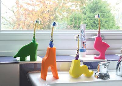 Animal Toothbrush Holder