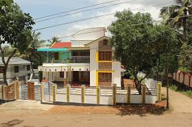 House of Mr.James Mamoottil, Kerala