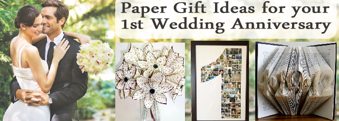 Gift Ideas First Wedding Anniversary: Amazing Personalized Gift Ideas : Paper Gift Ideas For
