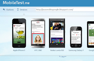 Mobile Web Testing Tools