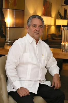 Roberto Henríquez, presidente de la Asociación de Hoteles de Santo Domingo (AHSD)