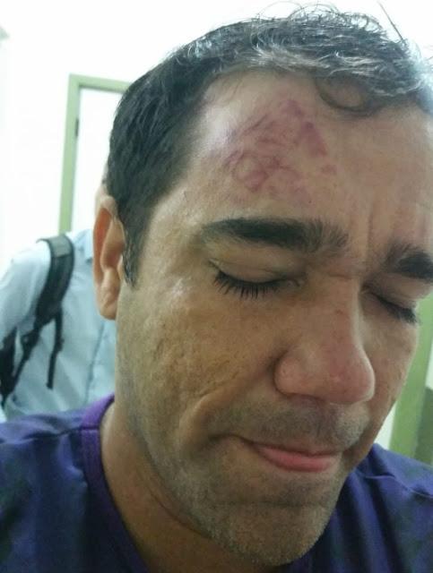 """Autor de agressão a árbitro pede perdão em vídeo: """"Errei e tenho que pagar"""""""