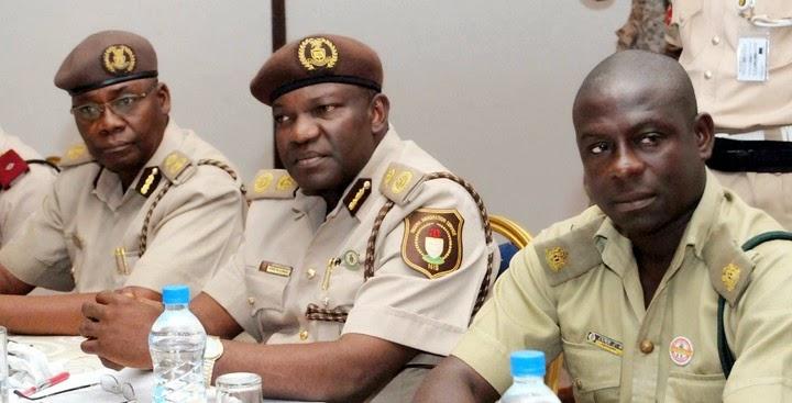 Nigeria Einwanderung Service Ränge