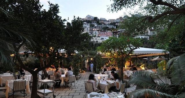 Restaurantes em Positano