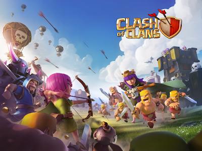 Clash of Clans Apk Mod v9.105.9 Unlimited Money & Gems Full Terbaru
