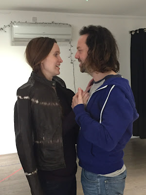 Sian Cameron & Ian Beadle rehearsing for HeadFirst Productions Don Giovanni