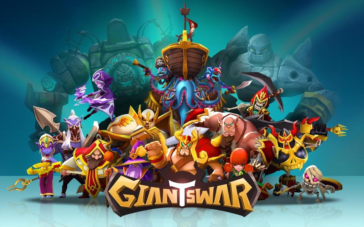 Game Baru Dari Gamevil, Giants War Sudah Tersedia Di Google Play