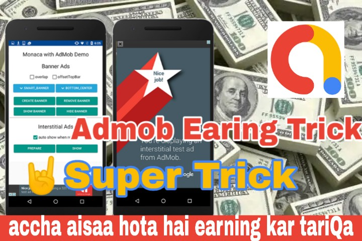 How to earn money with Google Admob easy and fast way [Hindi