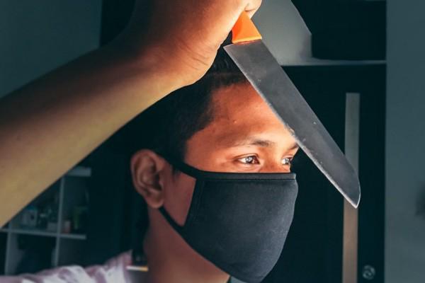 Melakukan Penusukan di Halte TransJakarta Pria Ini Jadi Tersangka