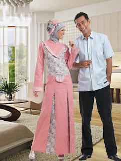 Foto Baju Batik Couple Untuk Lebaran