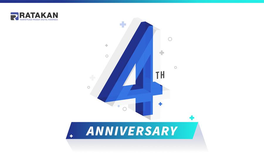 Pesta Diskon - Anniversary Ratakan ke-4