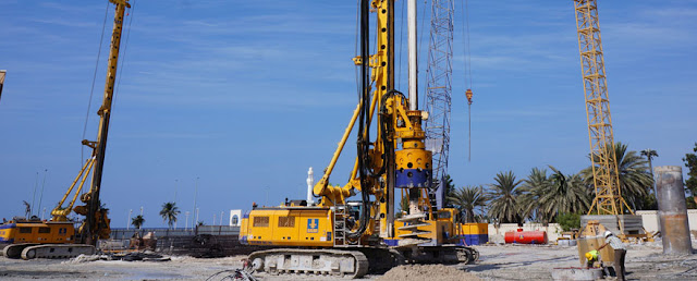 Auger Piling (Pic Credit: manavinfra)
