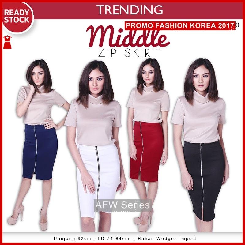 BAMFGW113 Middle Skirt Rok Wanita PROMO BMG