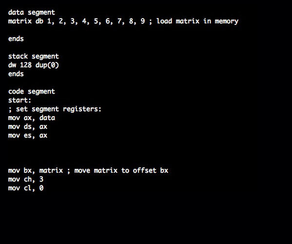 Matrix. Movies {as code}.