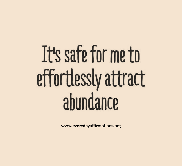 Daily Affirmations, Affirmations for Wealth, Affirmations for Money
