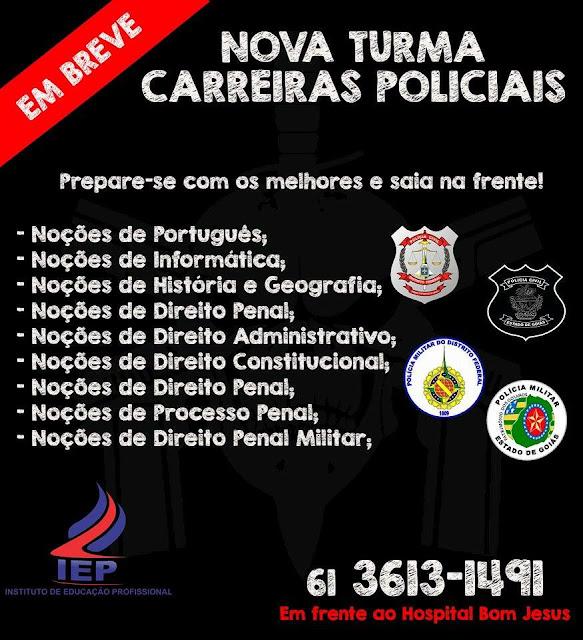 Nova Turma Carreiras Policiais